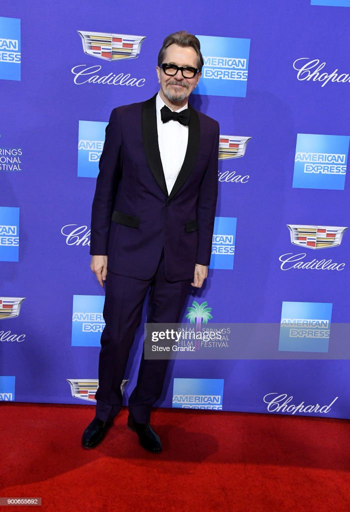 Gary Oldman attends the 29th Annual Palm Springs International Film Festival Awards Gala at Palm Springs Convention Center on January 2, 2018 in Palm Springs, California.