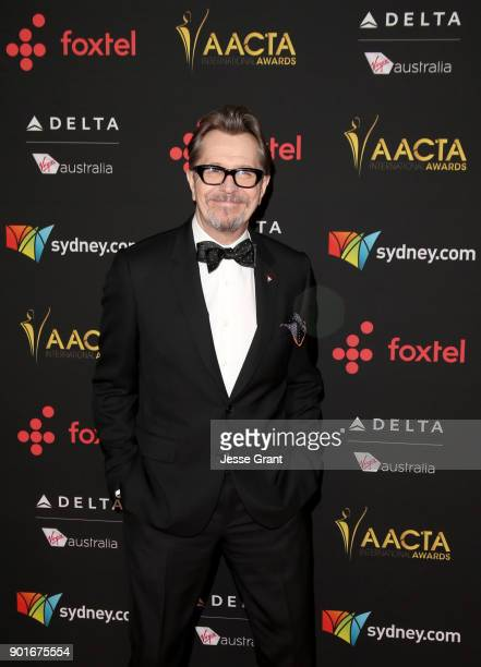 Gary Oldman attends the 7th AACTA International Awards at Avalon Hollywood in Los Angeles on January 5 2018 in Hollywood California
