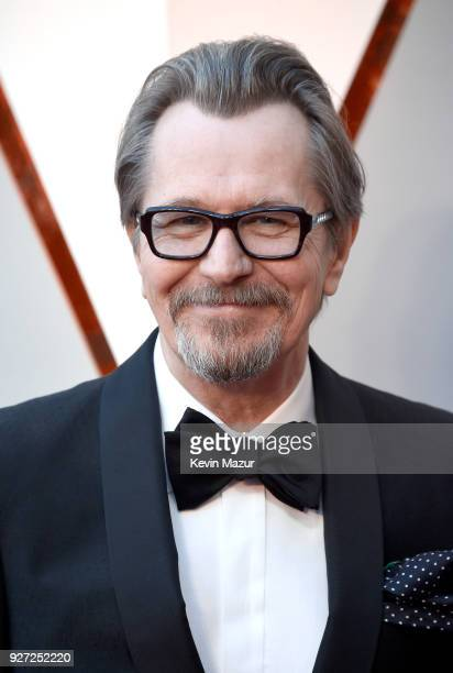 Gary Oldman attends the 90th Annual Academy Awards at Hollywood Highland Center on March 4 2018 in Hollywood California