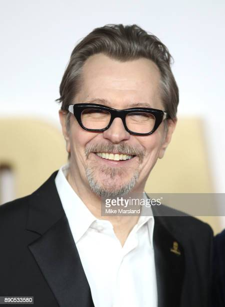 Gary Oldman attends the 'Darkest Hour' UK premeire at Odeon Leicester Square on December 11 2017 in London England
