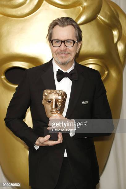 Gary Oldman attends the EE British Academy Film Awards gala dinner held at Grosvenor House on February 18 2018 in London England