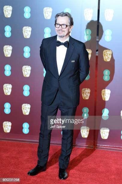 Gary Oldman attends the EE British Academy Film Awards held at Royal Albert Hall on February 18 2018 in London England