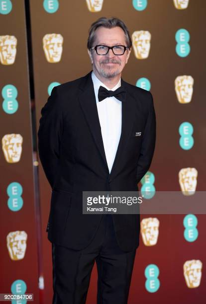 Gary Oldman attends the EE British Academy Film Awards held at the Royal Albert Hall on February 18 2018 in London England