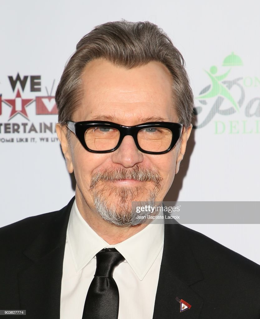 Gary Oldman attends the Inaugural Los Angeles Online Film Critics Society Award Ceremony on January 10, 2018 in Hollywood, California.