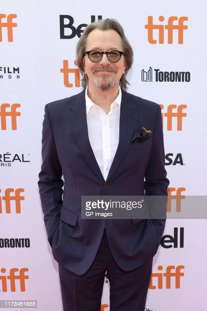 Gary Oldman attends The Laundromat premiere during the 2019 Toronto International Film Festival at Princess of Wales Theatre on September 09 2019 in...