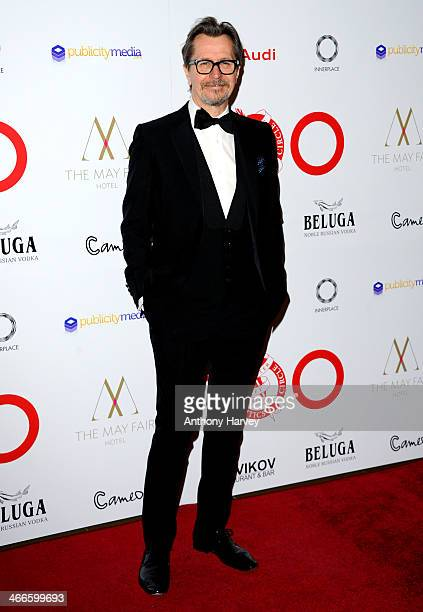 Gary Oldman attends the London Critics' Circle Film Awards at The Mayfair Hotel on February 2 2014 in London England