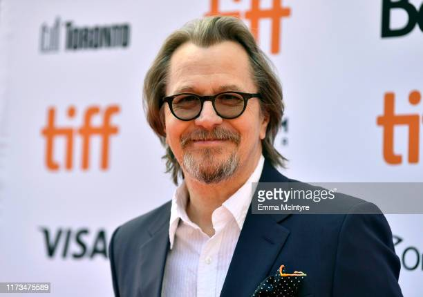 Gary Oldman attends the North American Premiere of 'The Laundromat' at the The Princess of Wales Theatre on September 09 2019 in Toronto Canada