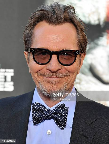 Gary Oldman attends the premiere of Dawn of the Planet of the Apes at Palace Of Fine Arts Theater on June 26 2014 in San Francisco California