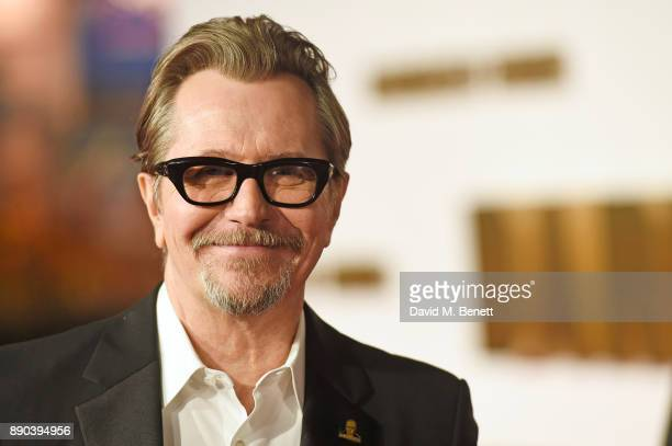 Gary Oldman attends the UK Premiere of 'Darkest Hour' at Odeon Leicester Square on December 11 2017 in London England