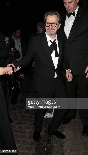 Gary Oldman seen at Universal and Working Title BAFTAs afterparty at Chiltern Firehouse after attending the EE British Academy Film Awards at the...