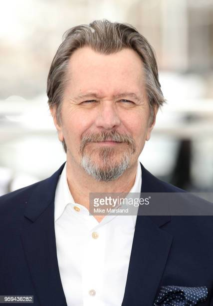 Gary Oldmanattends the photocall for RendezVous With Gary Oldman during the 71st annual Cannes Film Festival at Palais des Festivals on May 17 2018...