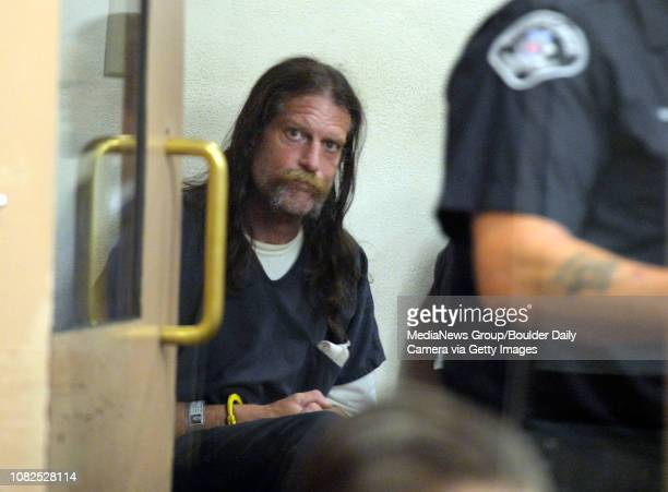Gary Oliva appears in court at the Boulder County Jail in Boulder Colorado on Tuesday June 21 2016 Oliva was booked without bond into the jail Friday...