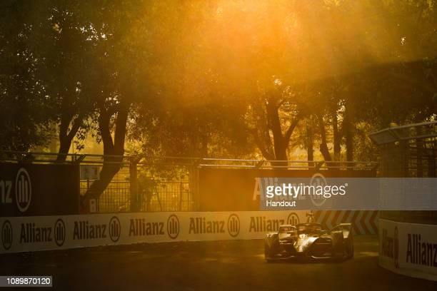 Gary Paffett HWA Racelab VFE05 during the Santiago Eprix at Parque O'Higgins Circuit on January 26 2019 in Santiago Chile
