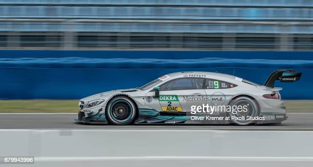 Gary Paffett of MercedesAMG DTM Team HWA during the DTM free practice session 3 at the Hockenheimring on Day 2 of the DTM German Touring Car Masters...