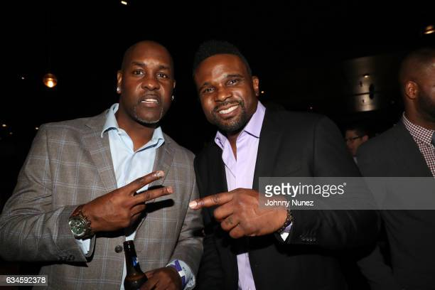 Gary Payton and Darius McCrary attend the Annual PreGrammy Reception hosted by Ted Reid at STK on February 9 2017 in Los Angeles California