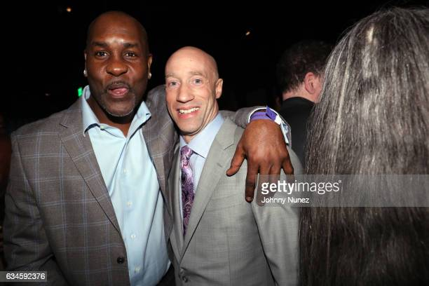 Gary Payton and Ted Reid attend the Annual PreGrammy Reception hosted by Ted Reid at STK on February 9 2017 in Los Angeles California