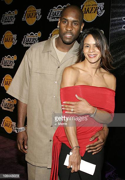 Gary Payton during 1st Annual Palms Casino Royale to Benefit The Lakers Youth Foundation at Barker Hangar in Santa Monica California United States
