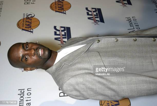 Gary Payton during Shaquille O'Neal Hosts Pre-Season Party to Benefit the Lakers Youth Foundation at The New Avalon in Hollywood, California, United...
