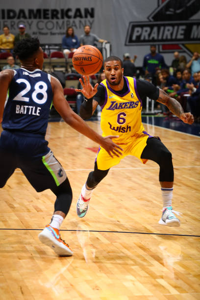 IA: South Bay Lakers v Iowa Wolves