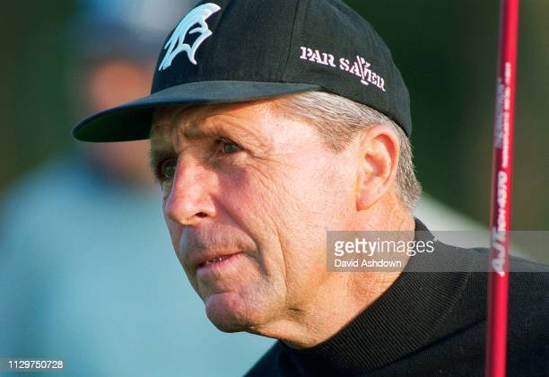 Gary Player during the 128th Open Championship at the Carnoustie Golf Links in Angus Scotland13th July 1999