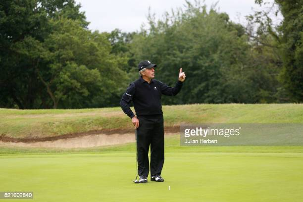 Gary Player during The Berenberg Gary Player Invitational 2017 at Wentworth Club on July 24 2017 in London England
