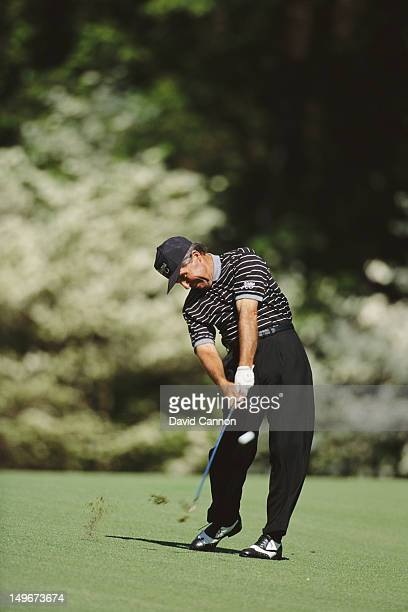 Gary Player of South Africa during the US Masters Golf Tournament on 8th April 1994 at the Augusta National Golf Club in Augusta Georgia United States