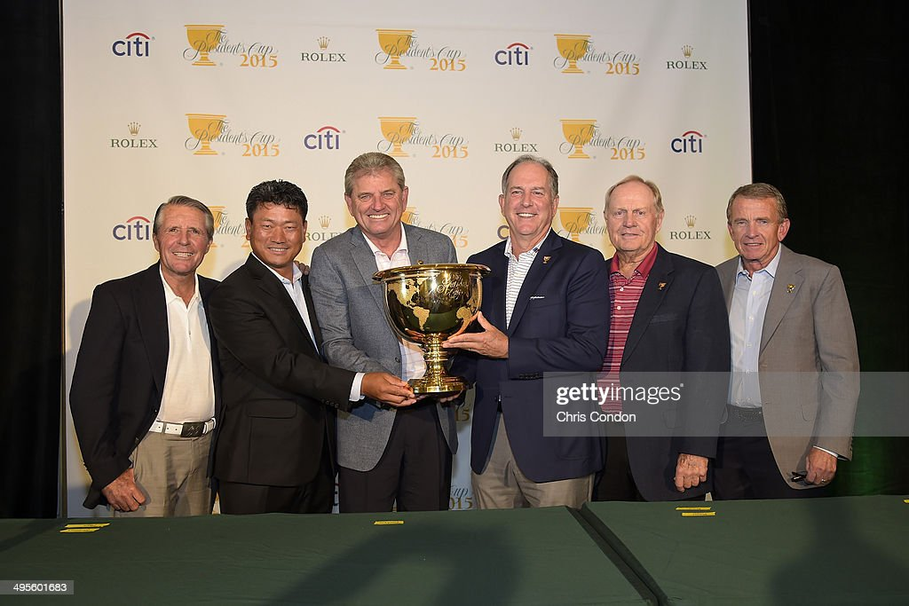 The Presidents Cup - 2015 Captains' Announcement : News Photo