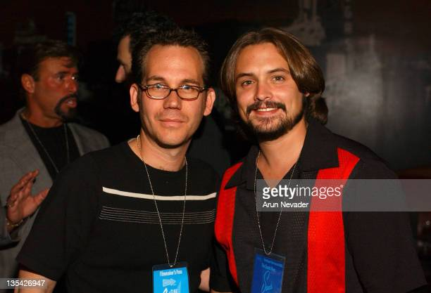 Gary Preisler and Will Friedle of 'Lady Killers' during CineVegas Film Festival 2003 VEGAScom Presents Its Vegas Baby Party at The Venetian...