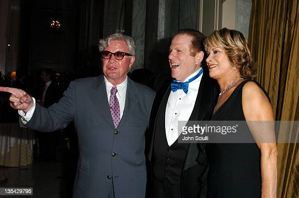 Gary Pudney, Arnold Kopelson and Anne Kopelson during The Larry King Cardiac Foundation Gala at The Regent Beverly Wilshire Hotel in Beverly Hills,...