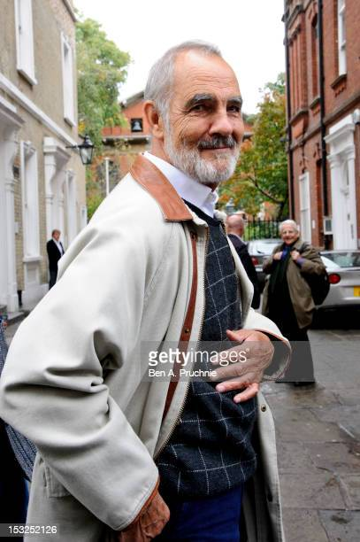Gary Raymond attends the memorial service for Victor Spinetti at St Paul's Church on October 2 2012 in London England