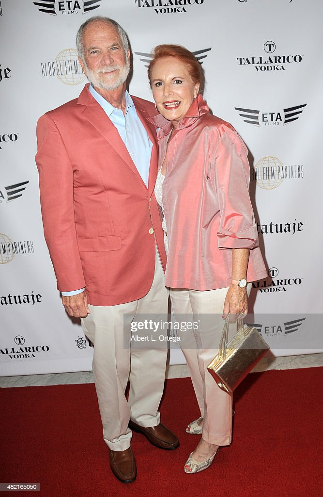 Gary Reuben and Susan Reuben arrive for the screening of 'Blunt Force Trauma' held at CAA on July 20, 2015 in Century City, California.