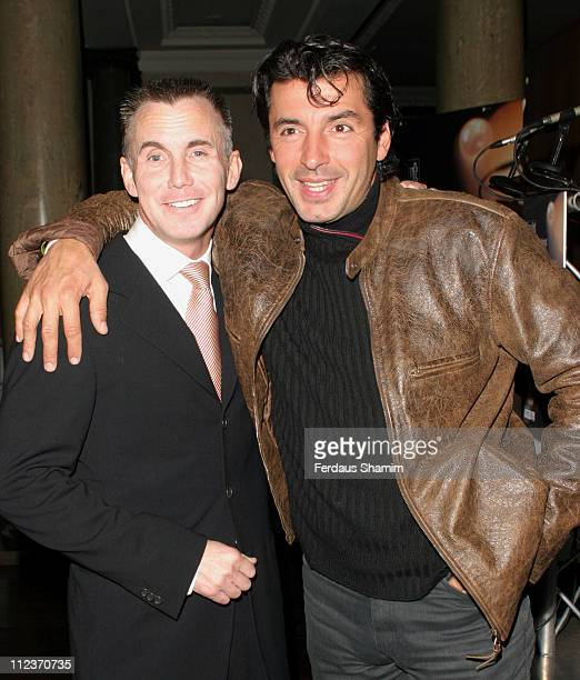 Gary Rhodes and Jean Christophe Novelli during 2005 Time Out Eating And Drinking Awards at Pearl in London Great Britain