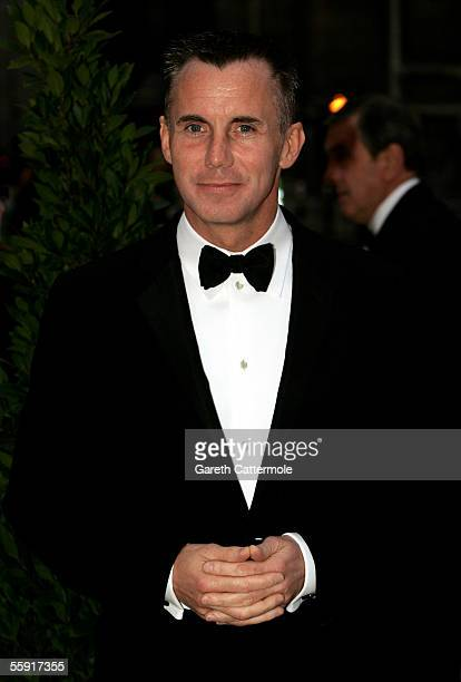 Gary Rhodes arrives at ITV's 50th Anniversary Royal Reception at the Guildhall on October 13 2005 in London England Queen Elizabeth II and Prince...