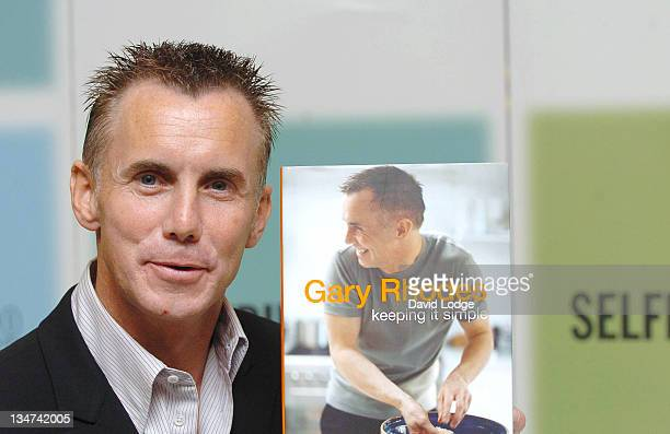 Gary Rhodes during Gary Rhodes Signs His Book Keeping It Simple at Selfridges in London September 12 2005 at Selfridges in London Great Britain