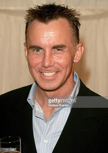 Gary Rhodes during ITVs Hell's Kitchen May 28 2004 Arrivals at Brick Lane London in London Great Britain
