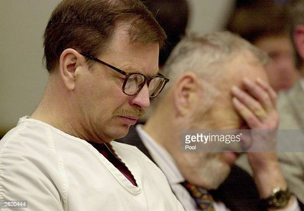 Gary Ridgway sits in court during the sentencing portion of his trial December18 2003 in Seattle Washington Ridgway recieved a life sentence with out...