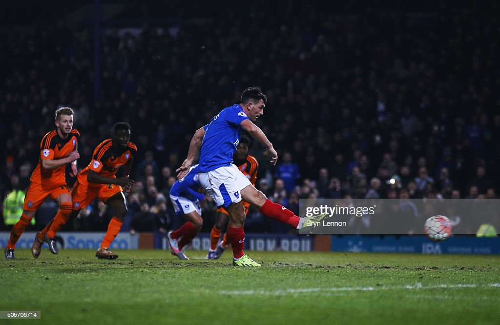 Portsmouth v Ipswich Town - The Emirates FA Cup Third Round