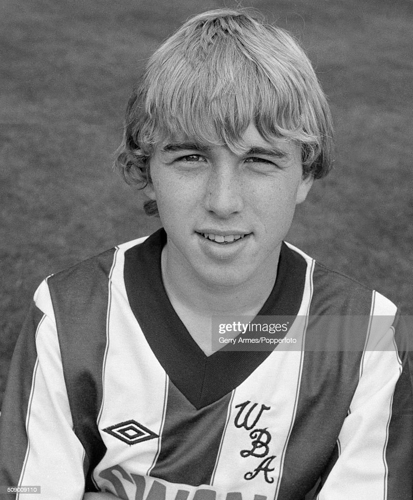 Gary Robson of West Bromwich Albion at the Hawthorns in West Bromwich, 30th August 1982.