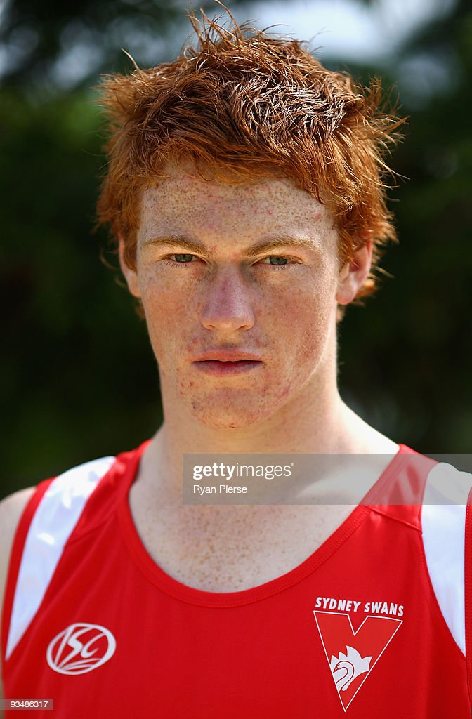 Gary Rohan, a new recruit of the Swans, poses during a Sydney Swans Training Session at Lakeside Oval on November 30, 2009 in Sydney, Australia.