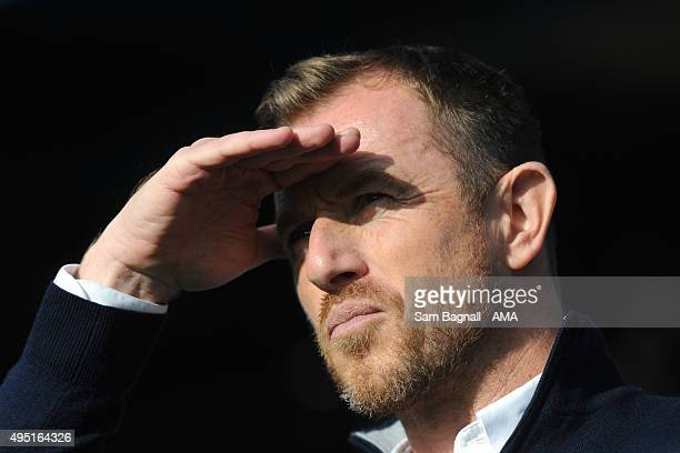 Gary Rowett manager / head coach of Birmingham City before the Sky Bet Championship match between Birmingham City and Wolverhampton Wanderers at St...