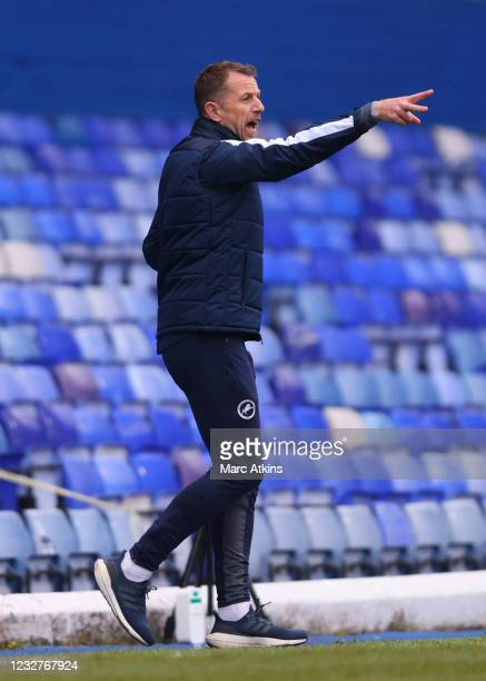 Gary Rowett manager of Millwall looks on during the Sky Bet Championship match between Coventry City and Millwall at St Andrew's Trillion Trophy...