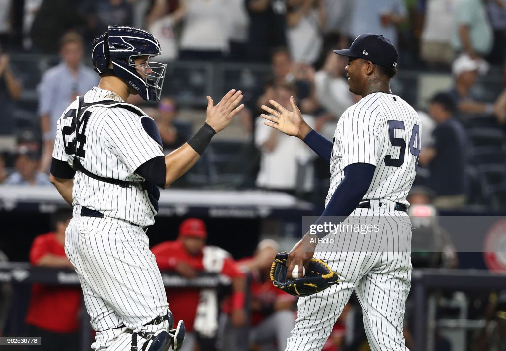 Los Angeles Angels of Anaheim  v New York Yankees : News Photo