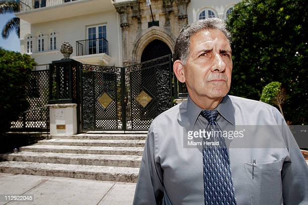Gary Schiaffo former Miami Beach detective and colead on the Gianni Versace murder investigation in 1997 stands in front of Versace's former...