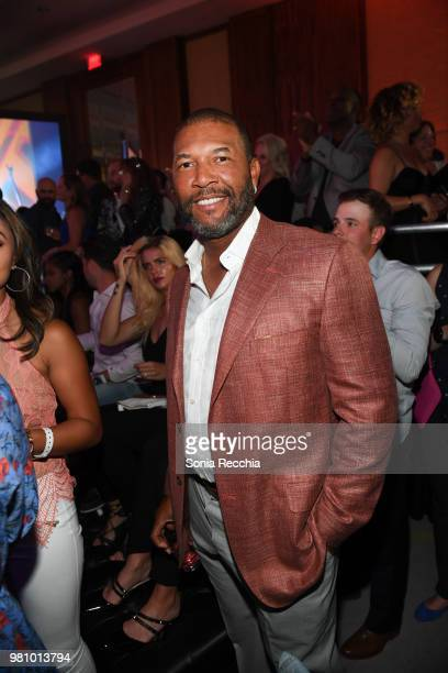 Gary Sheffield attends Joe Carter Classic After Party at Ritz Carlton on June 21 2018 in Toronto Canada