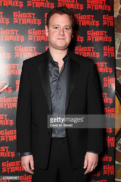 Gary Shelford attends the after party for the press night of Ghost Stories at on February 27 2014 in London England