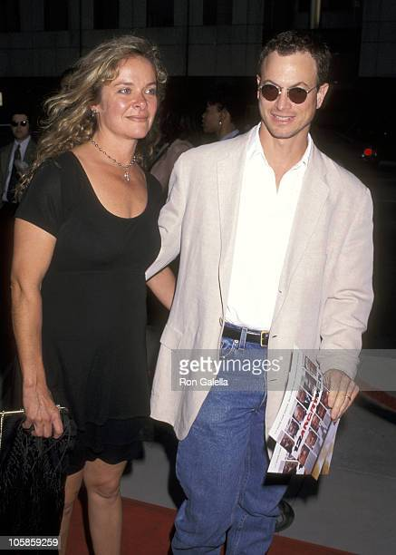 Gary Sinese and Moira Harris during Showtime's '12 Angry Men' Premiere Beverly Hills at Samuel Goldwyn Theater in Beverly Hills CA United States