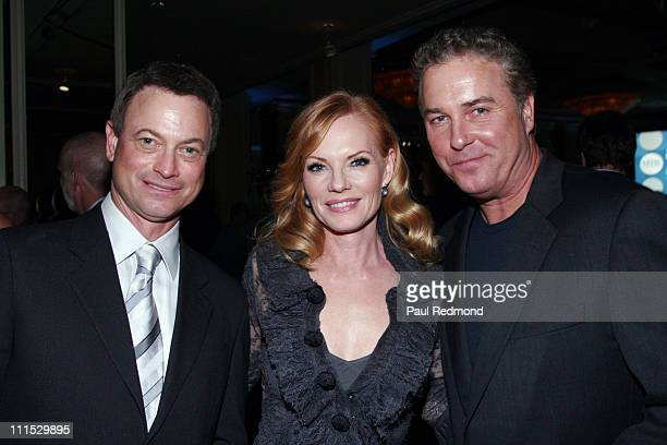 Gary Sinise Marg Helgenberger and William Petersen