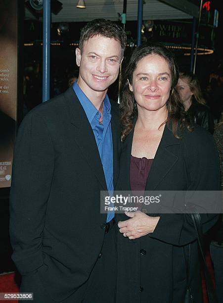 Gary Sinise who costars and his wife Moira
