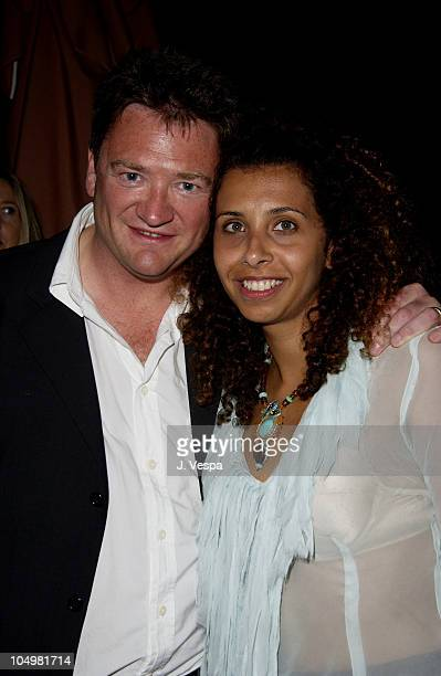 Gary Smith Exec Prod during Cannes 2002 'Scorched' Party at Majestic Beach in Cannes France