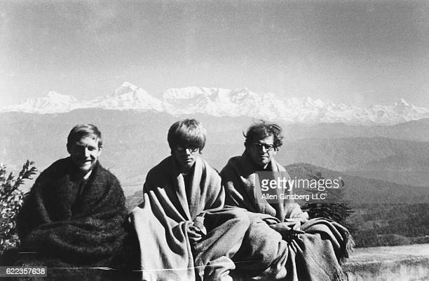 Gary Snyder Peter Orlovsky and Allen Ginsberg travel in India